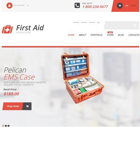 first-aid-supplies temas woocommerce
