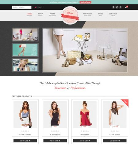 glamo best wordpress templates
