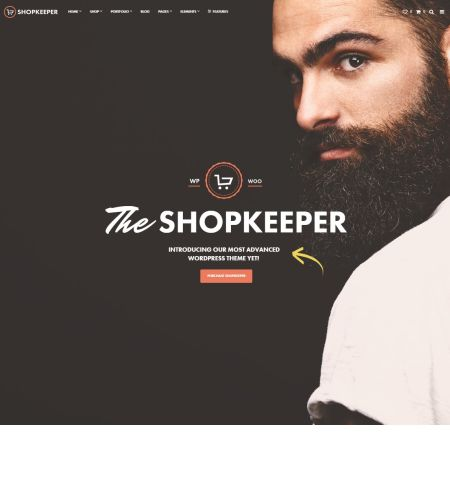 shopkeeper wordpress loja virtual ecommerce